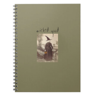 """""""Wicked Good""""witch notebook from Notforgotten Farm"""