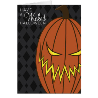 Wicked Halloween Card
