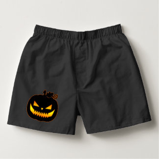 Wicked Halloween Pumpkin Boxers