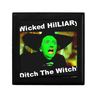 Wicked Hillary Ditch The Witch Jewelry Box