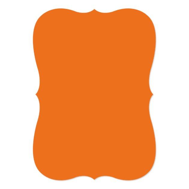 Wicked Jack-O-lantern Pumpkin Face Halloween Party Card (back side)