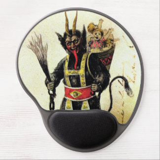 Wicked Krampus Scary Demon Holiday Christmas Xmas Gel Mouse Pad