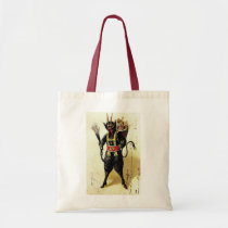 Wicked Krampus Scary Demon Holiday Christmas Xmas Tote Bag