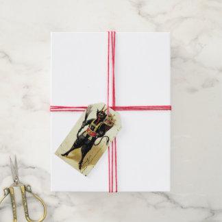 Wicked Krampus Scary Demon Xmas Christmas Gift Tags