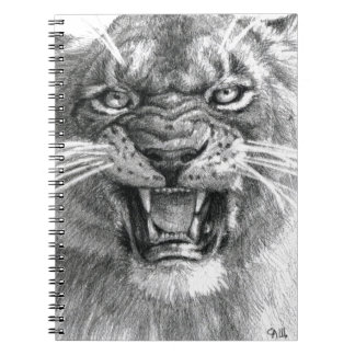 Wicked Lioness design by schukina 748d Carnets
