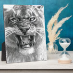 Wicked Lioness design by schukina 748d Photo Plaque