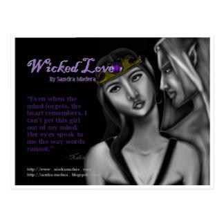 Wicked Love by Sandra Madera Postcard