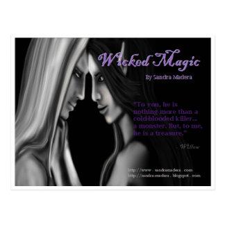 Wicked Magic by Sandra Madera Postcard