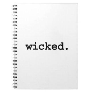 wicked notebooks