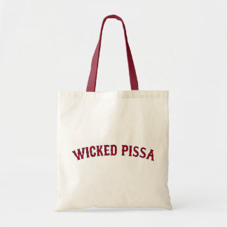 Wicked Pissa Budget Tote Bag
