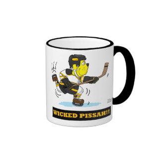 Wicked Pissah Hockey Mug