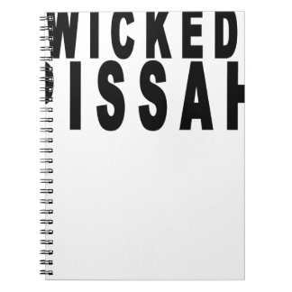 Wicked Pissah Tshirts png Note Book