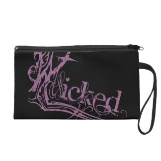 Wicked Purple Clutch Wristlet