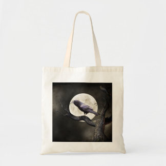 Wicked Raven Tote Bag