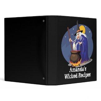 Wicked Recipe Book avery binder