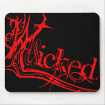 Wicked Red Mouse Pad
