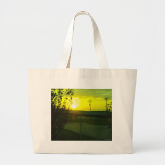 Wicked Rising of the Sun Large Tote Bag