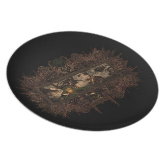 Wicked Sanctuary plate