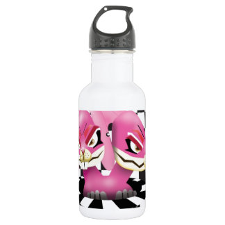 Wicked siamese rabbits and no magician water bottle