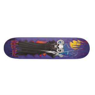 Wicked Skull Skate Skateboard Deck