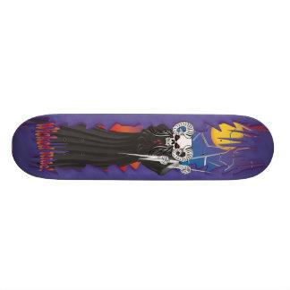 Wicked Skull Skateboard