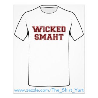 Wicked Smart (Smaht) College Boston Flyer