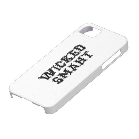 Wicked Smart (Smaht) College Boston iPhone SE/5/5s Case