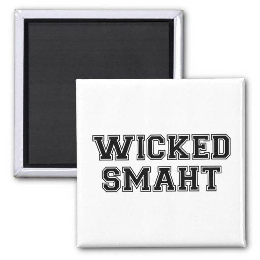 Wicked Smart (Smaht) College Boston Refrigerator Magnet