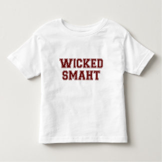 Wicked Smart (Smaht) College Boston Toddler T-shirt
