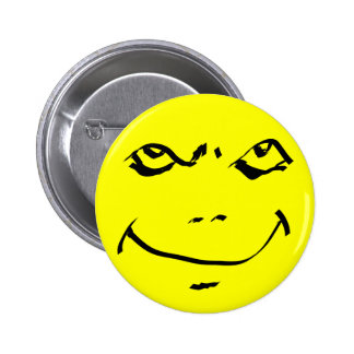 Wicked Smiley 2 Inch Round Button