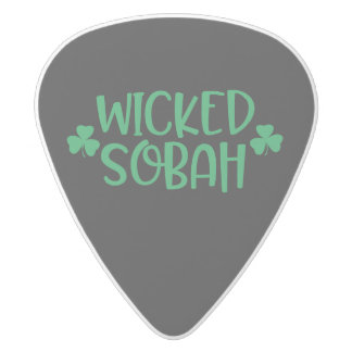 Wicked Sobah Guitar Pick