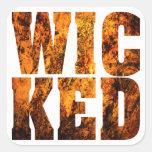 WICKED SQUARE STICKER
