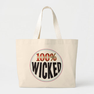 Wicked Tag Canvas Bags
