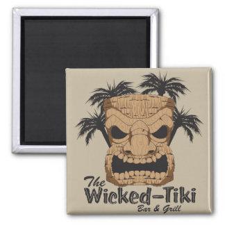 Wicked Tiki Bar Magnet
