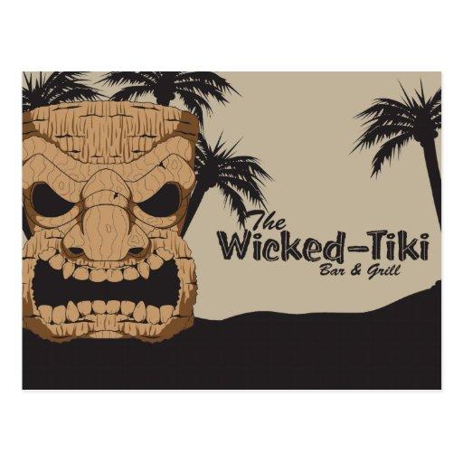 Wicked Tiki Bar Postcards