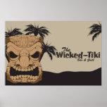 Wicked Tiki Bar Poster