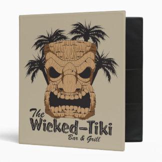 Wicked Tiki Bar School Binder Folder