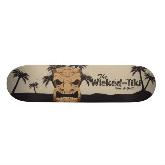 Wicked Tiki Bar Skateboard