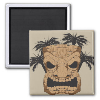Wicked Tiki Carving Magnet