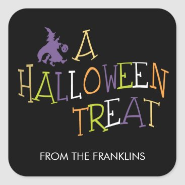 berryberrysweet Wicked Treat Halloween Gift Tag Stickers