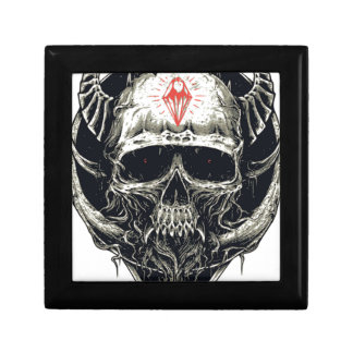 Wicked Viking Diamond Skull Gift Box
