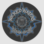 Wicked Waters Main Logo Sticker