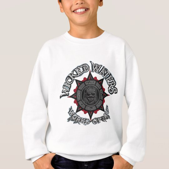 Wicked Waters works of art apparel, clothes, gifts Sweatshirt