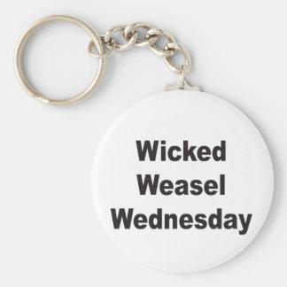 Wicked Weasel Wednesday Keychain