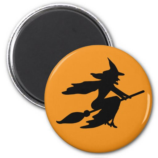 Wicked Witch 2 Inch Round Magnet
