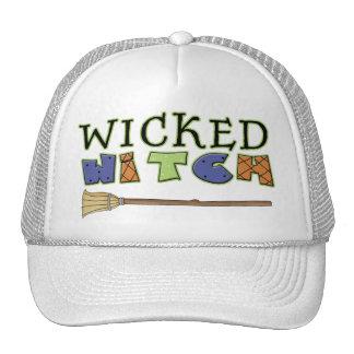 Wicked Witch Broom Sticks Broomsticks Trucker Hat