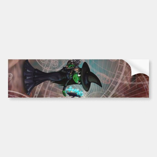 Wicked Witch Bumper Stickers