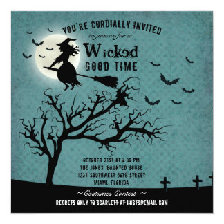 Wicked Witch Card