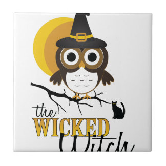 Wicked Witch Ceramic Tile