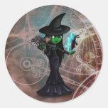 Wicked Witch Classic Round Sticker